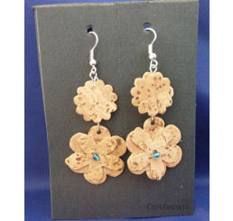 Earrings (LC-821 model) from the manufacturer Luisa Cork